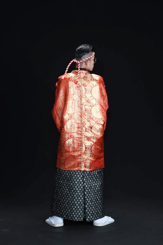 香川成人式用袴 派手