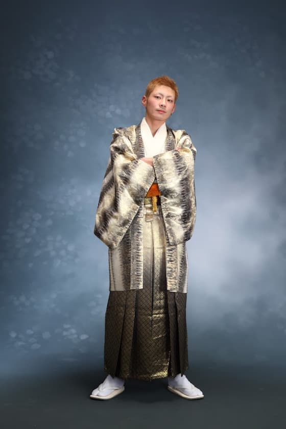 個性的な成人式紋付袴レンタル