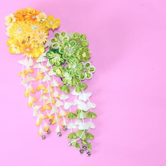 振袖お花のヘアアクセサリー
