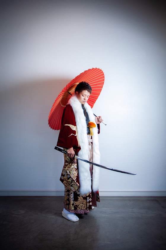 紋付袴 成人式